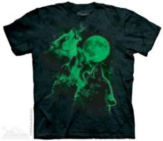 The Mountain Three Wolf Moon Short Sleeve Tee Clothing