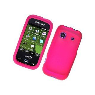 Samsung Trender M830 SPH M380 Hot Pink Hard Cover Case Cell Phones & Accessories