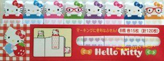 Hello Kitty Mini Post it Page Markers Flags / Made in Janan  Sticky Note Pads