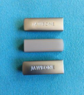 3pcs Replacement Light Grey End Caps Covers for Jawbone UP 2 2nd Gen 2.0 Bracelet Band Wristband Wrist Band Sport Band Cap Dust Protector (not for the 1st Gen) Cell Phones & Accessories