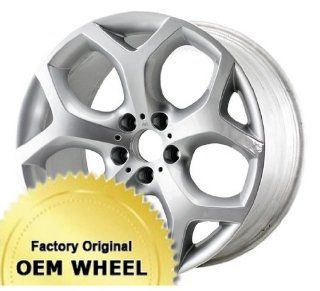 BMW X5,X6 20x10 5 Y SPOKES Factory Oem Wheel Rim  SILVER   Remanufactured Automotive