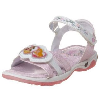 Disney Toddler/Little Kid Princess Sandal, White/Pink, 12 M US Little Kid Shoes