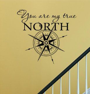 You are my true north star Vinyl Wall Decals Quotes Sayings Words Art Decor Lettering Vinyl Wall Art Inspirational Uplifting  Nursery Wall Decor  Baby