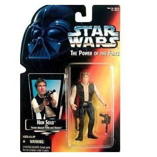 Star Wars Power of the Force Red Card Han Solo Action Figure (japan import) Toys & Games