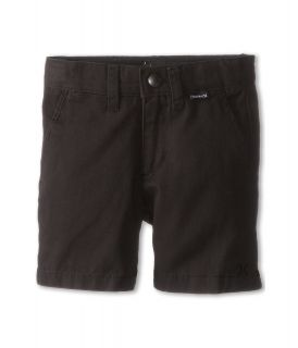 Hurley Kids One Only Twill Short Boys Shorts (Black)