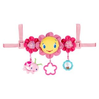 Bright Starts Pretty in Pink Carrier Toy Bar