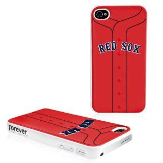 MLB Boston Red Sox Jersey Hard Iphone Case  Cell Phone Carrying Cases  Sports & Outdoors