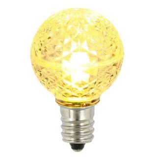 Club Pack of 25 LED G30 Warm Clear Replacement Christmas Light Bulbs   String Lights