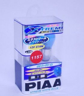 PIAA (Type 1157) 19228 Xtreme White Mini Car Accessories Light Bulb Wedge Bulb Automotive