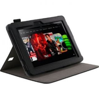 "rooCASE Dual View Leather Case for Kindle Fire HD 8.9"" (Black) Computers & Accessories"