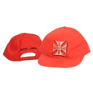 West Coast Choppers Jesse James Red Adjustable Hat  Sports Fan Baseball Caps  Sports & Outdoors
