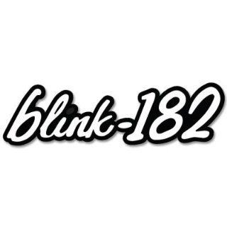 "Blink 182 logo vynil car sticker 5"" x 3"" Automotive"