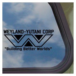 WEYLAND YUTANI Black Decal ALIENS LV 426 HIVE Car Sticker Automotive