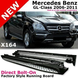 Mercedes Gl class Gl320 Gl350 Gl450 Gl550 2006 to 2011 X164 Running Board Side Step Bar Automotive