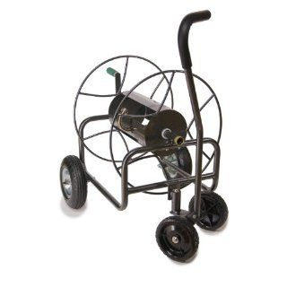 Yard Butler HT 4EZTURN Four Wheeled Hose Reel Cart with Easy Turn Handle  Garden Hose Reels  Patio, Lawn & Garden