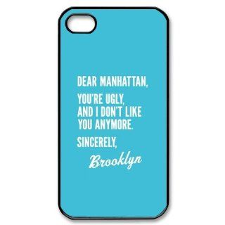 Brooklyn Bridge iPhone 4/4S Case Hard Plastic iPhone 4/4S Case Cell Phones & Accessories