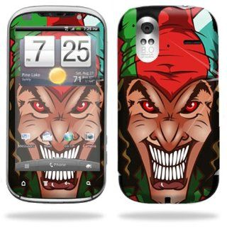 Protective Vinyl Skin Decal Cover for HTC Amaze 4G T Mobile Cell Phone Sticker Skins Jolly Jester Cell Phones & Accessories