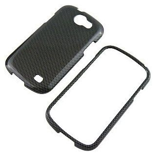 Carbon Fiber Look Protector Case for Samsung Galaxy Express SGH i437 Cell Phones & Accessories