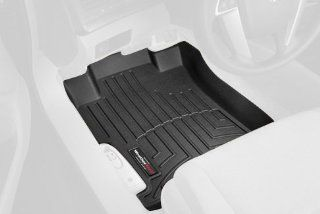 WeatherTech Custom Fit Front FloorLiner for Honda Accord (Black) Automotive