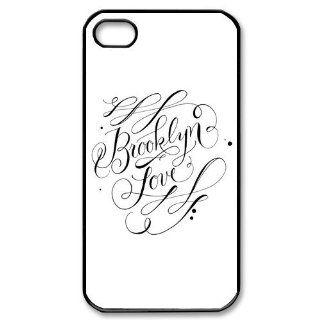 Brooklyn Love iPhone 4/4S Case Hard Plastic iPhone 4/4S Case Cell Phones & Accessories