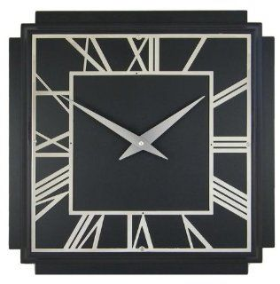 Shop Roger Lascelles A Square Wooden Black Deco Wall Clock, 14.2 Inch at the  Home D�cor Store. Find the latest styles with the lowest prices from Roger Lascelles