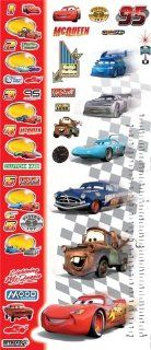 Disney Lightning McQueen Cars Growth Chart Sticker  Baby