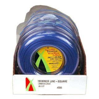 Maxpower 332265 Square Cut Commercial Grade Trimmer Line, Blue, Medium  String Trimmer Lines  Patio, Lawn & Garden