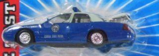 GEORGIA STATE PATROL Road Champs 1998 Ford Crown Victoria Police Series Die Cast Car 143 Scale Toys & Games