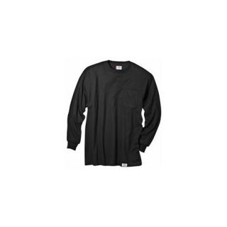 Dickies Extra Large Black Mens Long Sleeve T Shirt  WL511BK XL ARCHIVE