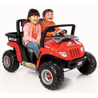 Power Wheels Fisher Price Red Arctic Cat Ride On Toys & Games