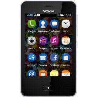 Nokia Asha 501 Unlocked GSM Cell Phone   Black Cell Phones & Accessories