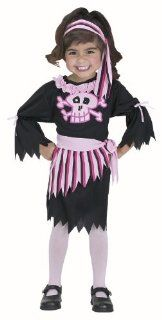 Toddler Pink Pirate Girl Costume (Size 1T 2T) Toys & Games