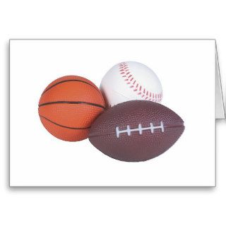 Sports Fan Gifts Basketball Baseball Football Cards