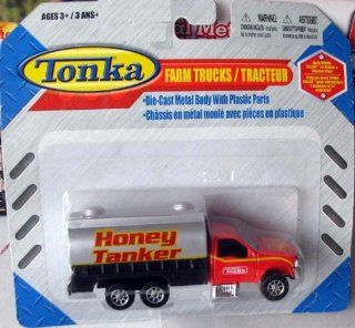 Tonka Honey Tanker Dairy Transport Farm Truck 1/64 Scale Toys & Games