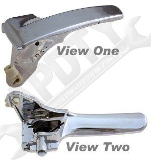 APDTY 92753 Interior/Inside Door Handle(2008 2010 Jeep Liberty)Front or Rear Left/Driver Side,Chrome Plastic Handle,Direct Replacement for Proper Fit Every Time,Replaces Factory OEM Part Number(s)  68033461AA Automotive