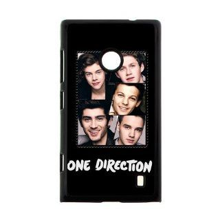 Retro Cute One Direction Nokia Lumia 520 Case Cover Cell Phones & Accessories