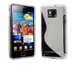 Importer520 Frost Clear White S Shape TPU Cover Case For AT&T SAMSUNG© Galaxy S2(i777,i9100) Cell Phones & Accessories