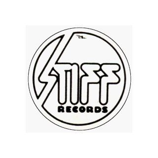 "Stiff Records   Logo (Black And White)   1"" Button Novelty Buttons And Pins Clothing"