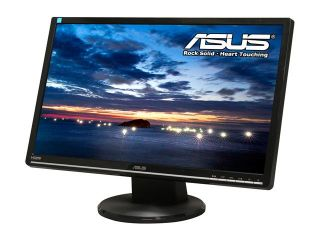 "ASUS VW246H Glossy Black 24"" HDMI Widescreen LCD Monitor Built in Speakers"