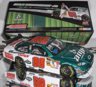 2009 Action Racing Collectables ARC Dale Earnhardt Jr #88 Green & White AMP Energy 1/24 Scale Diecast Opening Hood, Trunk, Roof Flaps Car of Tomorrow COT Rear Wing Front Splitter Sports & Outdoors