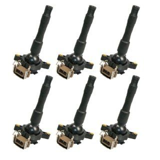BMW 6 Ignition Coil 323 325 328 330 Z3 525 528 540 740 X5 M3 Convertible Touring #12131748017 # 0221504029 Automotive