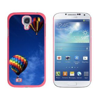 Graphics and More Hot Air Balloons   Snap On Hard Protective Case for Samsung Galaxy S4   Non Retail Packaging   Pink Cell Phones & Accessories