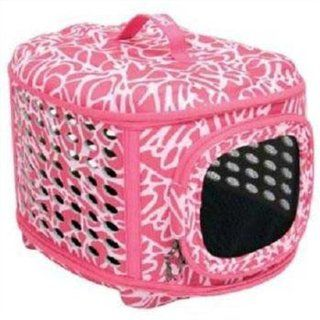 Petmate Curvations Luxury Pet Carrier, Small, Pink  Pet Carriers For Small Dogs
