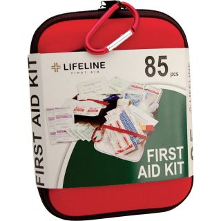 Lifeline Large First Aid Kit — 85 Pcs., Model# 4408  First Aid Kits