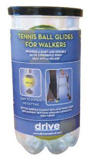 Deluxe Tennis Ball Glides w/Replaceable Pads (2) (Catalog Category Mobility Products / Walker Accessories) Health & Personal Care
