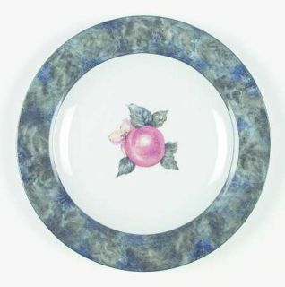 Royal Doulton Georgia Salad Plate, Fine China Dinnerware   Multicolor Fruit & Fl