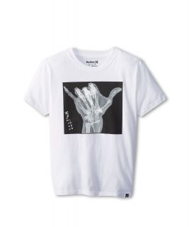 Hurley Kids Sxakka Tee Boys T Shirt (White)