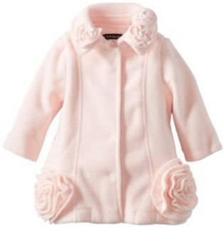 Kate Mack Baby Girls Essential Coats Infant Polar Fleece Jacket, Pink, 9 Months Infant And Toddler Outerwear Jackets Clothing