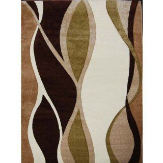 Home Dynamix Sumatra 8559c 548 31 1/2 Inch by 55.1 Inch Area Rug, Brown/Green