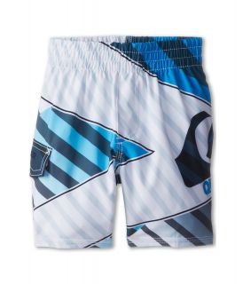 Quiksilver Kids Xiting Volley Boardshort Boys Swimwear (White)